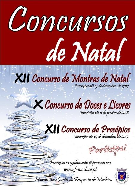 Cópia de Cartaz Concursos de Natal 2017