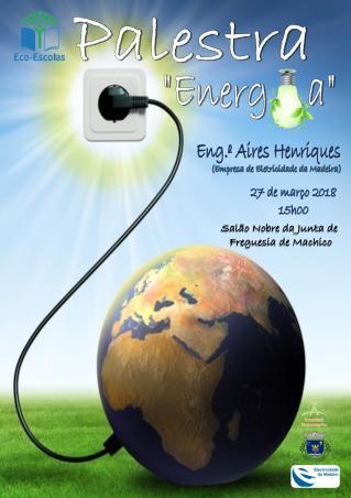 Eco-Escolas - Cartaz Energia